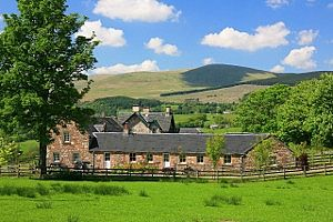 Ochil and Blashie Cottages can be booked together