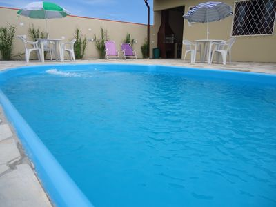 Photo for WI-FI - HOUSE WITH POOL 4 BEDROOMS - ALL WITH DOUBLE BED P / 18 PEOPLE