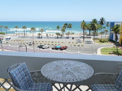 Photo for Oceanfront Vacation Rental. 1/1 + Maid's Apt - Santo Domingo