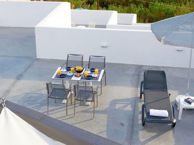 Photo for Beautiful private villa for 6 guests with A/C, WIFI, private pool and TV