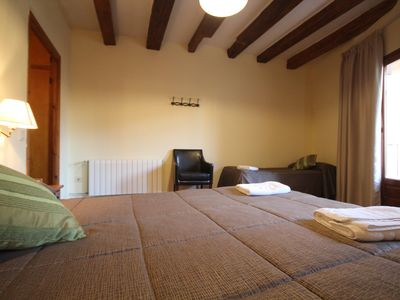 Photo for Centre del Montsec - 101 - Triple Room