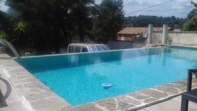 Photo for VILLA T3 GROUND GARDEN, PINEDE KITCHEN SUMMER POOL AND QUIET