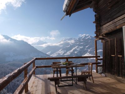 Photo for Magnificent Beaufortain alpine chalet renovated and comfortable