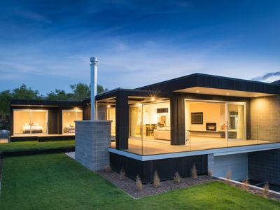 Photo for Architecturally designed home, close to Lake Wanaka and walking distance to town