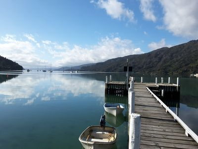 Photo for 2BR Apartment Vacation Rental in Anakiwa, RD 1 Picton