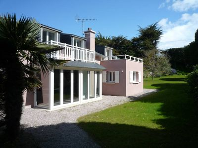 Photo for Renovated house and large garden close to the beach