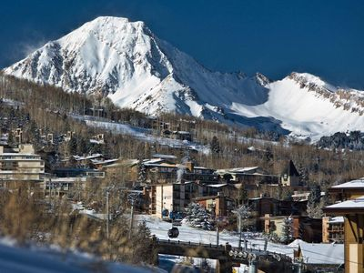 Photo for Luxury Designer Furnished Condo Ski in Ski out,$$$million view free bus service