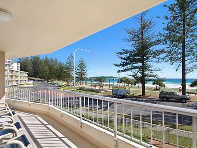 Photo for Rainbow Place unit 5 - Beachfront apartment in Rainbow Bay Coolangatta, Southern Gold Coast