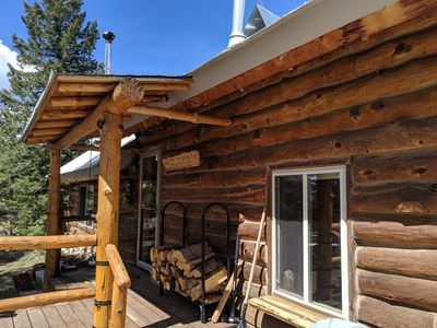 Photo for Little Valhalla Log Cabin Mountain Getaway