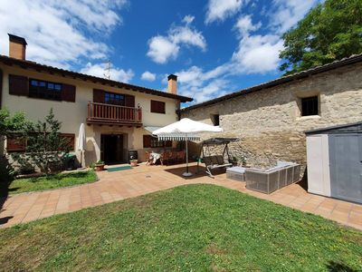 Photo for FAMILY HOUSE WITH GARDEN IN ORDUÑA, NEAR THE NATURAL PARK OF GORBEA