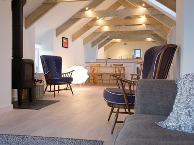 Photo for Tregiffian Barn is one of the best holiday cottages in the far west of Cornwall