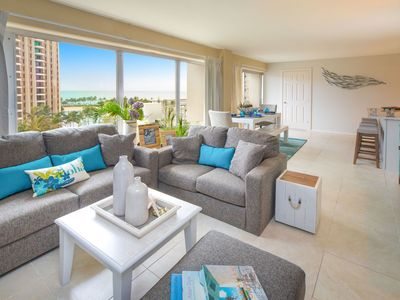 Photo for Remodeled Corner Condo with Ocean, Marina, Lagoon Views!