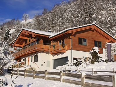 Photo for Luxury chalet (sleeps 12) in Bramberg on sunny location with great views