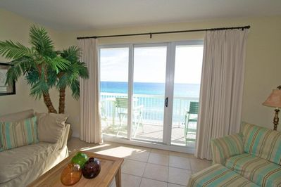 View of the gulf from living room