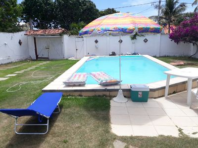 Photo for Beautiful House in Vilas do Atlântico, Completes 01 minute from the Beach