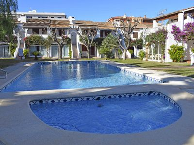 Photo for Beautiful and comfortable apartment  with communal pool in Denia, on the Costa Blanca, Spain for 4 persons