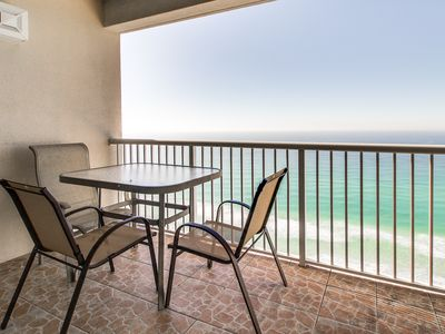 Photo for Oceanfront Majestic Beach Resort condo w/ shared pool, hot tub, & beach access