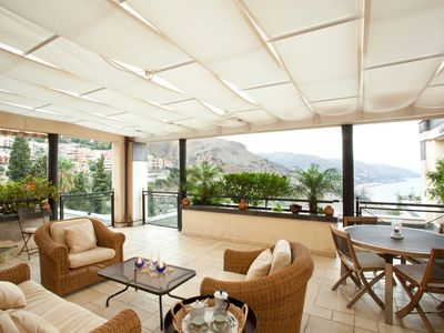 Photo for LOVELY APPARTMENT IN  A LUXURY RESIDENCE INTAORMINA