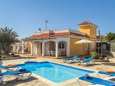 Photo for 3BR villa ideally located for golfing in the nearby resort, with heated pool and Wi-Fi