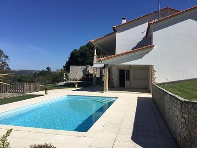 Photo for Beautiful secluded house with private pool and panoramic views to Sao Martinho