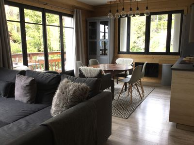 Photo for Cozy and bright apartment in the heart of Font Romeu / 6 pers / WIFI.