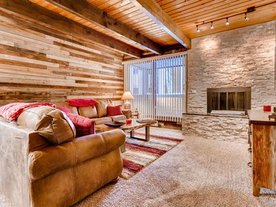 Photo for Relax in this Rustic and Comfy Mountain Condo!