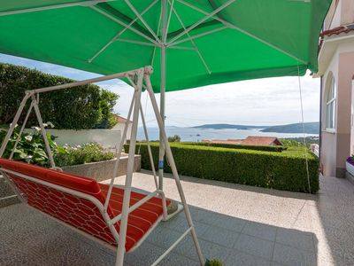 Photo for Studio flat with balcony and sea view Seget Vranjica (Trogir)