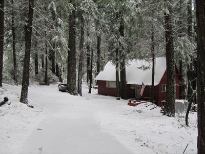 Photo for 3 Bed - 2 bathroom Cabin 10 Mins to Pinecrest Lake & 15 Mins to Dodge Ridge