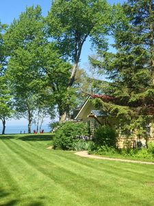 Photo for On Lake Michigan, Bright,Light & Airy Summer Haven, Gorgeous Views,Sand Beach