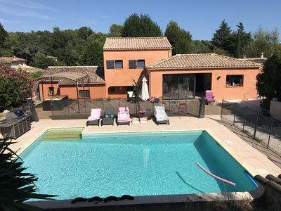 Photo for Beautiful renovated provencal villa in Roquefort les Pins