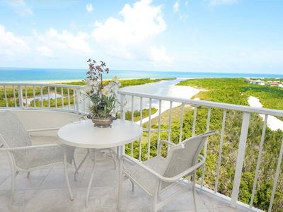 Photo for Enjoy spectacular views of the Gulf of Mexico and Tigertail Beach from high above in this turnkey 2BR/2BA unit on the 16th floor