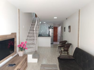 Photo for Triplex house in Praia do Forte in Cabo Frio, 3 suites, wifi, sky