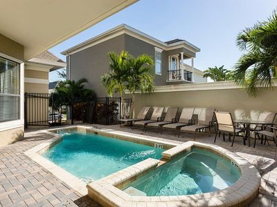 Photo for 6/5.5 Private Pool/Spa, Guest Suite, FREE Waterpark Access, Grill