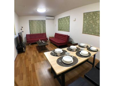 Photo for Shinjukuku,3min from sta.,10beds, 4rooms+BIGdining