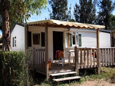 Photo for Camping Les Palmiers **** - Mobile Home Idaho 3 Rooms 4 People