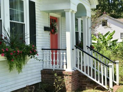 Photo for Historic cottage in center of downtown Summerville
