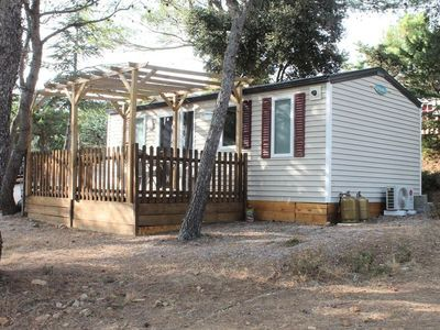 Photo for Camping Le Pinada *** - Mobilhome for 4 People