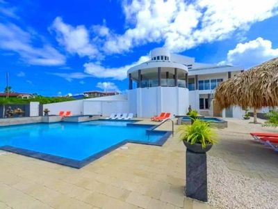 Photo for Directly from owner! Villa Aruba for 25 persons. Best View! Large Pool + jacuzi