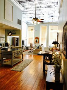 Photo for Downtown Galveston Historic Spacious Open Loft