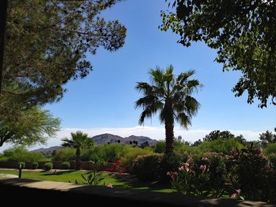 Enjoy this spectacular view off the patio!