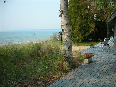Photo for Best Location, ON THE BEACH.  borders Whitefish Dunes State Park