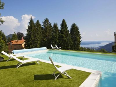 Photo for 3½-room semi-detached house on the site of a prestigious villa from 1850 with