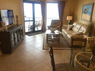 Photo for Luxurious 2BR 2BA Directly on the Beach!