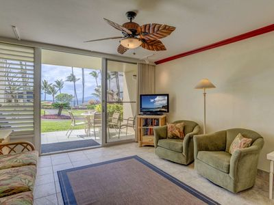 Photo for Napili Shores B109 - Full Ocean view - Ground Floor location - Spring dates OPEN -  Great Location!