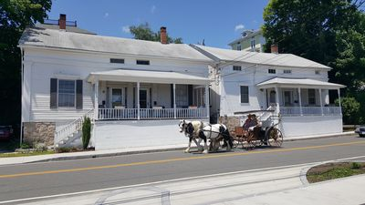 Photo for Historic 1845 Greek Revival with Views of Mystic River