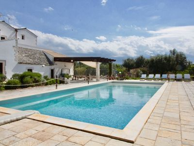 Photo for Beautifully restored 16th Century farmhouse with large private pool