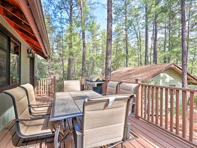 Photo for Refurbished Strawberry Retreat Under Cool Pines!