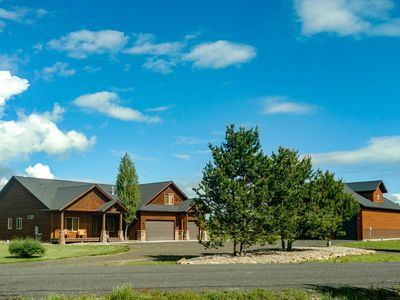 Photo for Fun family-friendly home w/private hot tub, firepit, and charming mountain views