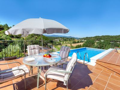 Photo for This 3-bedroom villa for up to 7 guests is located in Tordera and has a private swimming pool and Wi