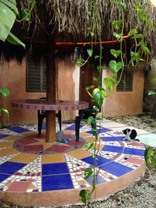Photo for Private Colorful Retreat Cabin & Garden in Tulum Town, 10-15 min To  Beaches